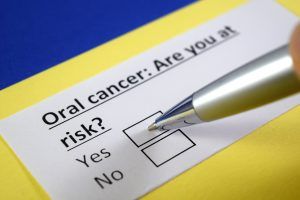 oral cancer questionnaire